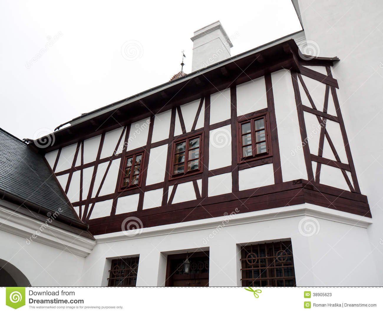 House in german style stock image image of protection for German house builders