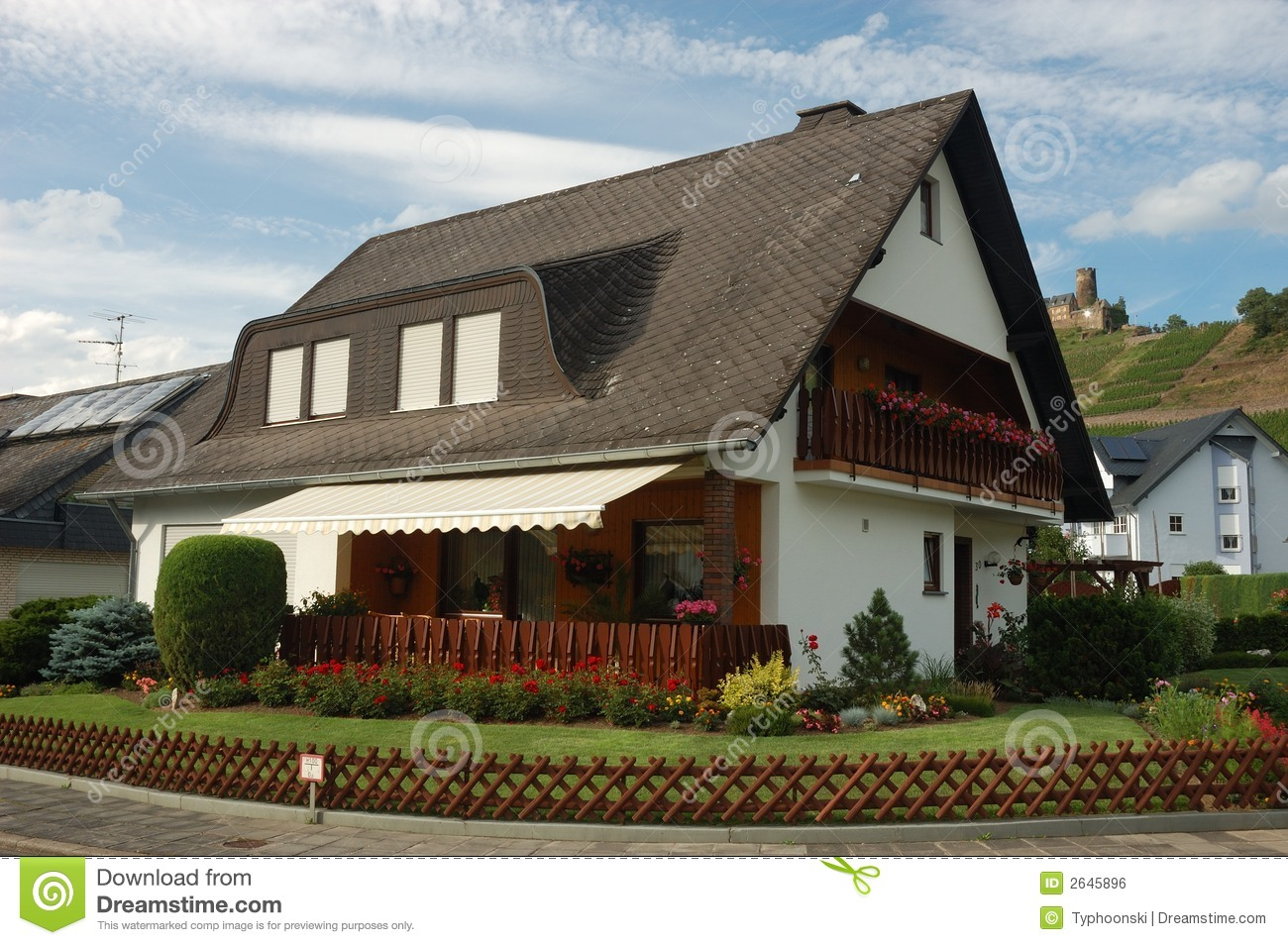 House In German Village Royalty Free Stock Image Image