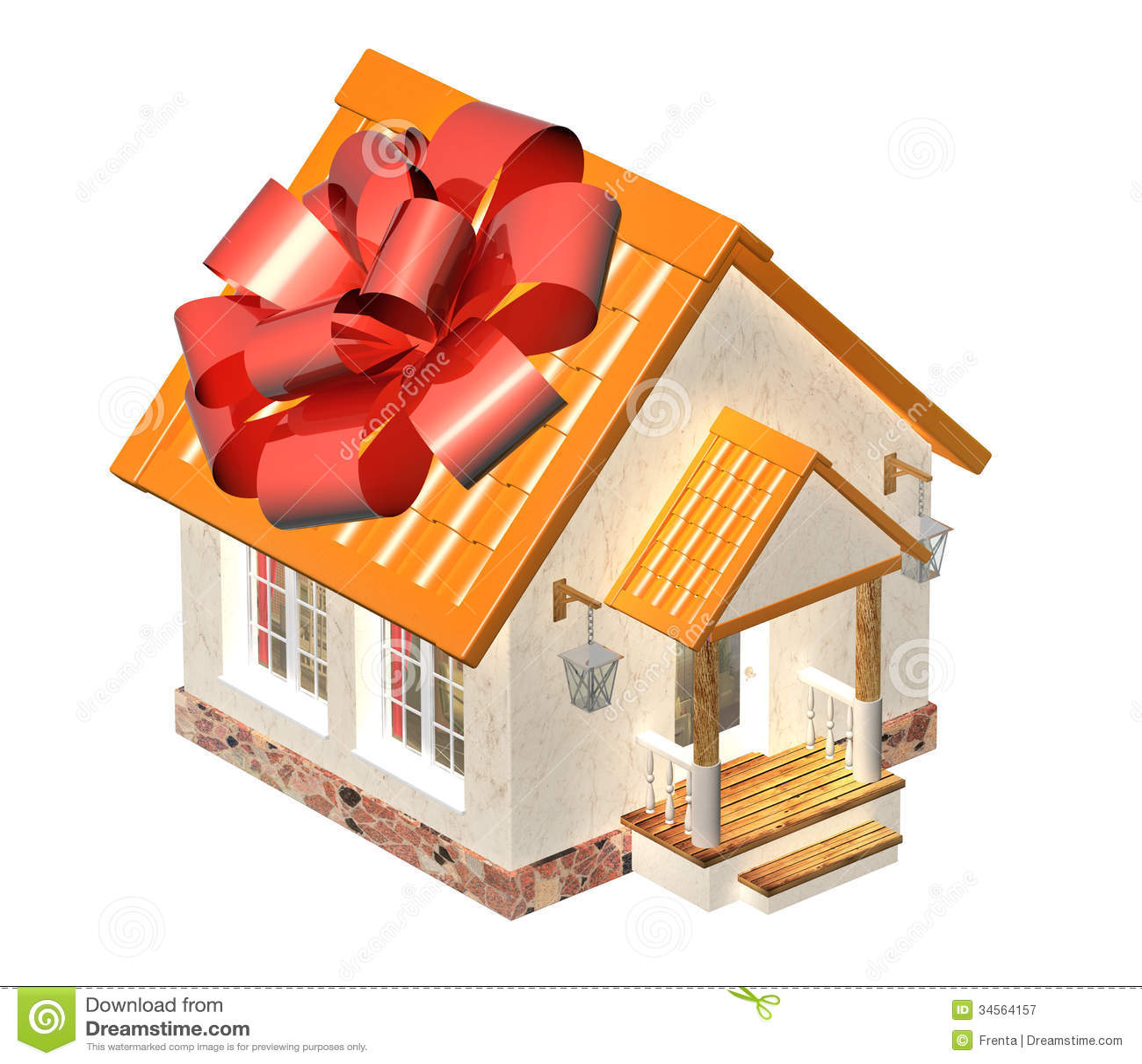 House gift royalty free stock photography image 34564157 - Regalos en casa ...