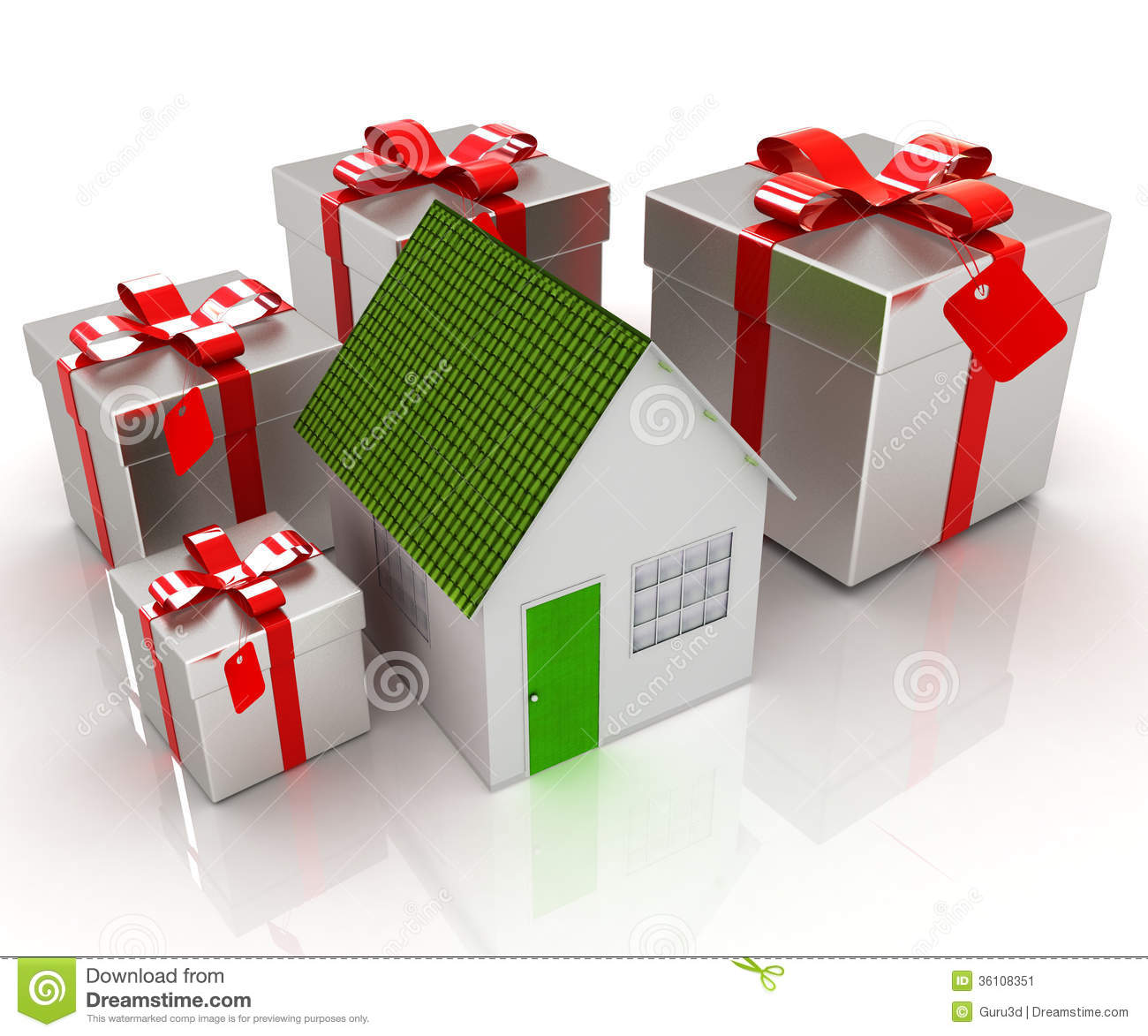 House Gifts house and gifts stock image - image: 36108351