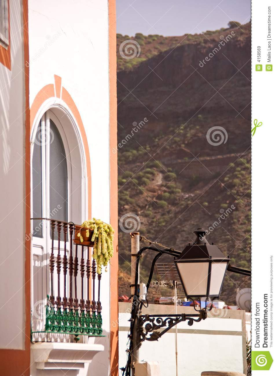 House in gran canaria stock image image of exterior - Houses in gran canaria ...