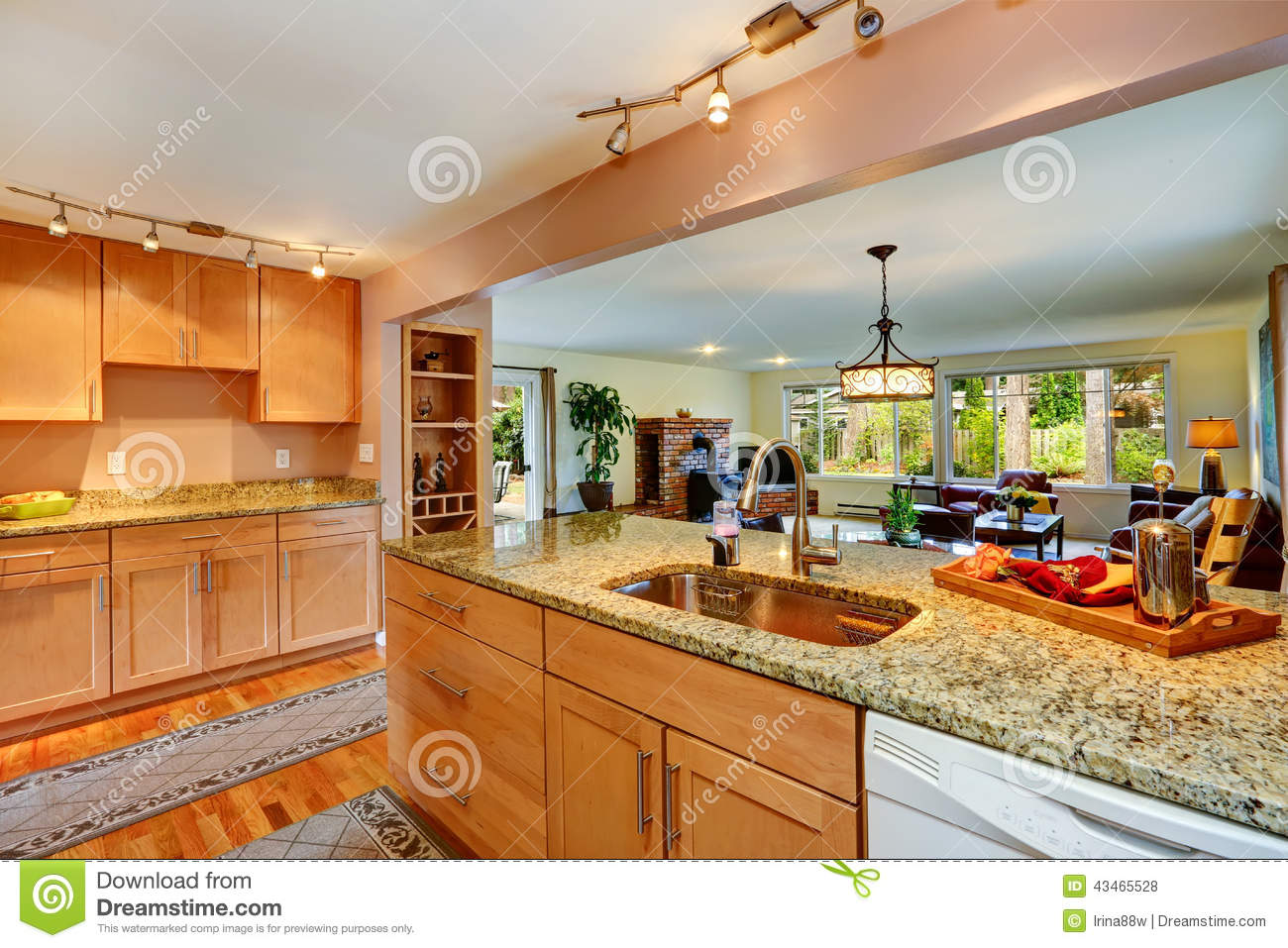 House with granite tops