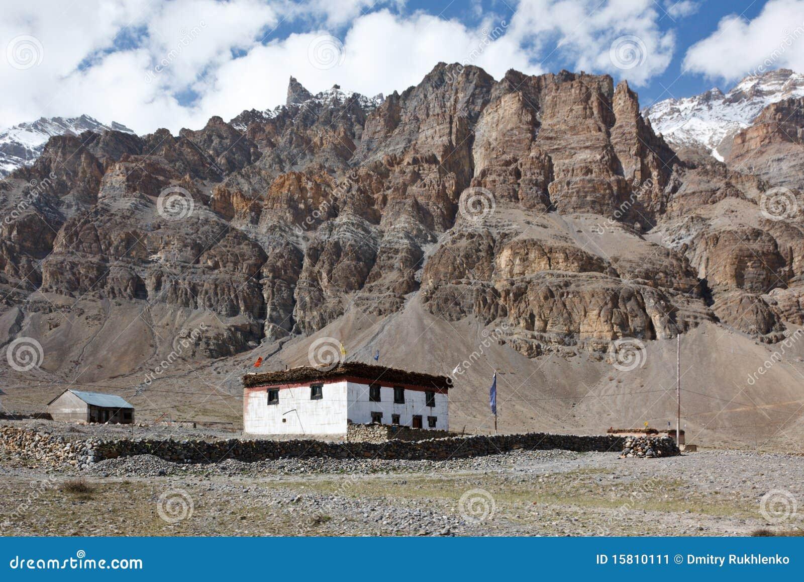House In Himalaya Mountains Stock Image Image 15810111