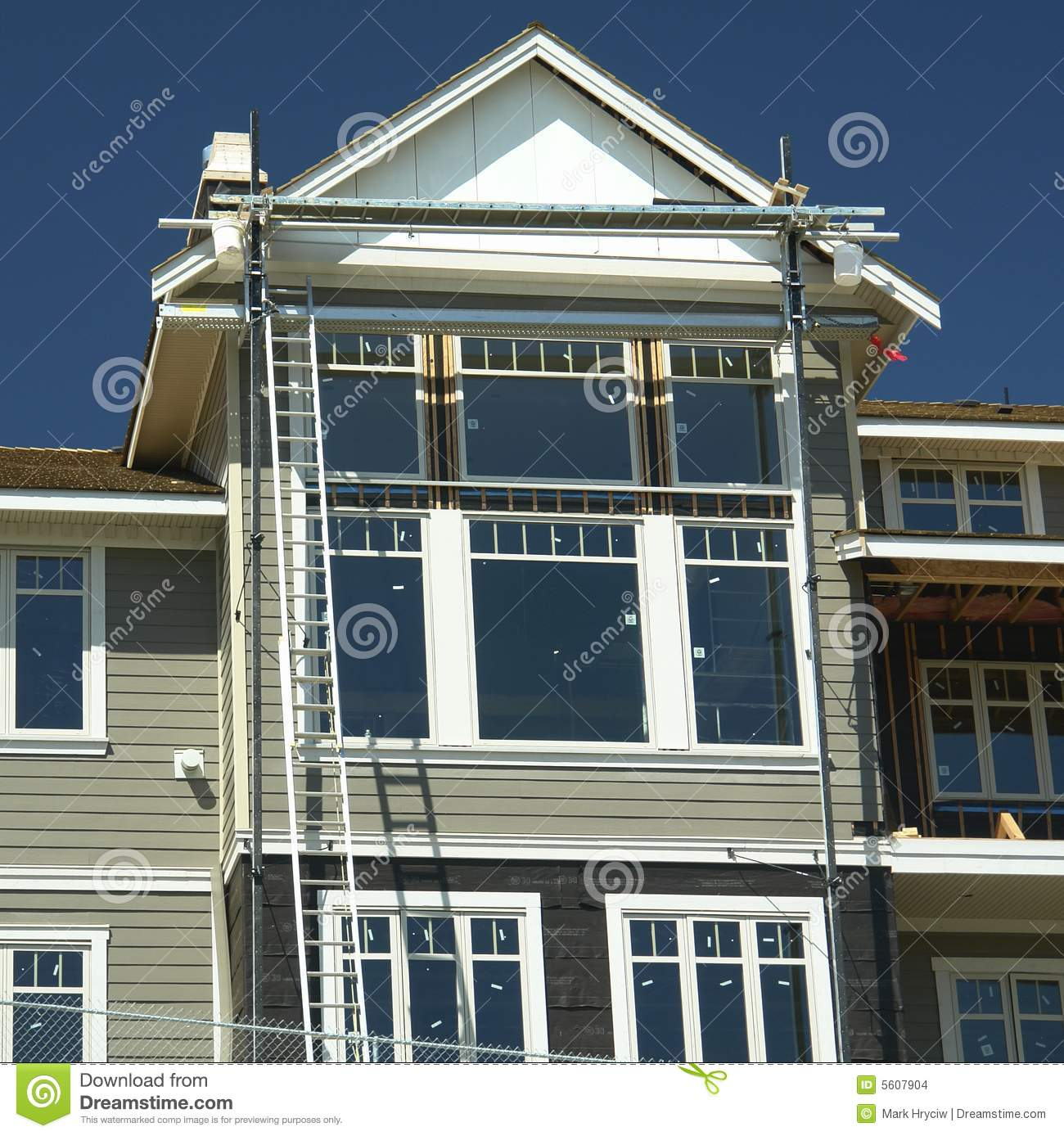 Home construction financing stock photography for Building loan for house