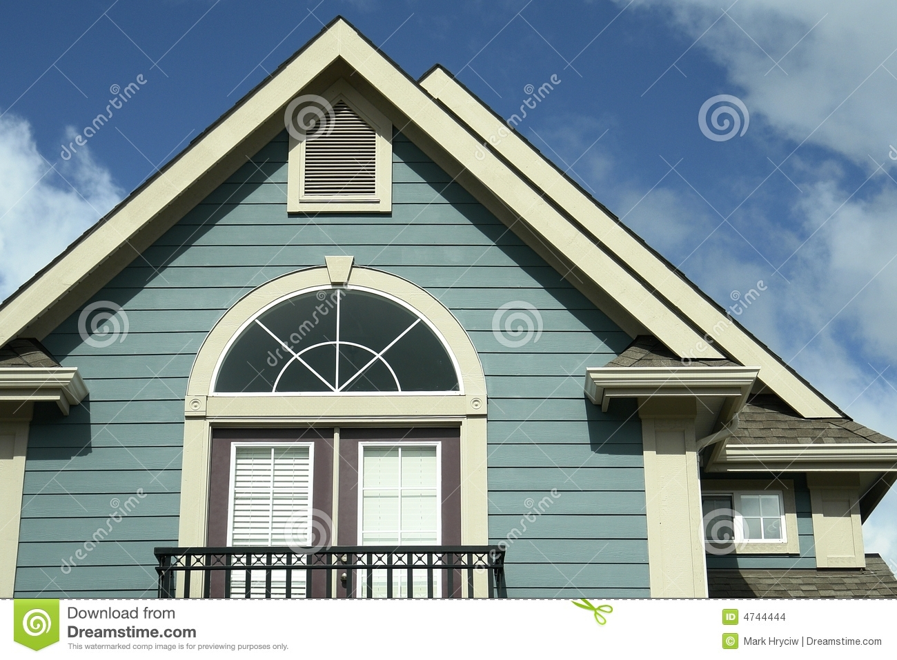 House Home Exterior Siding BC Stock Images Image 4744444