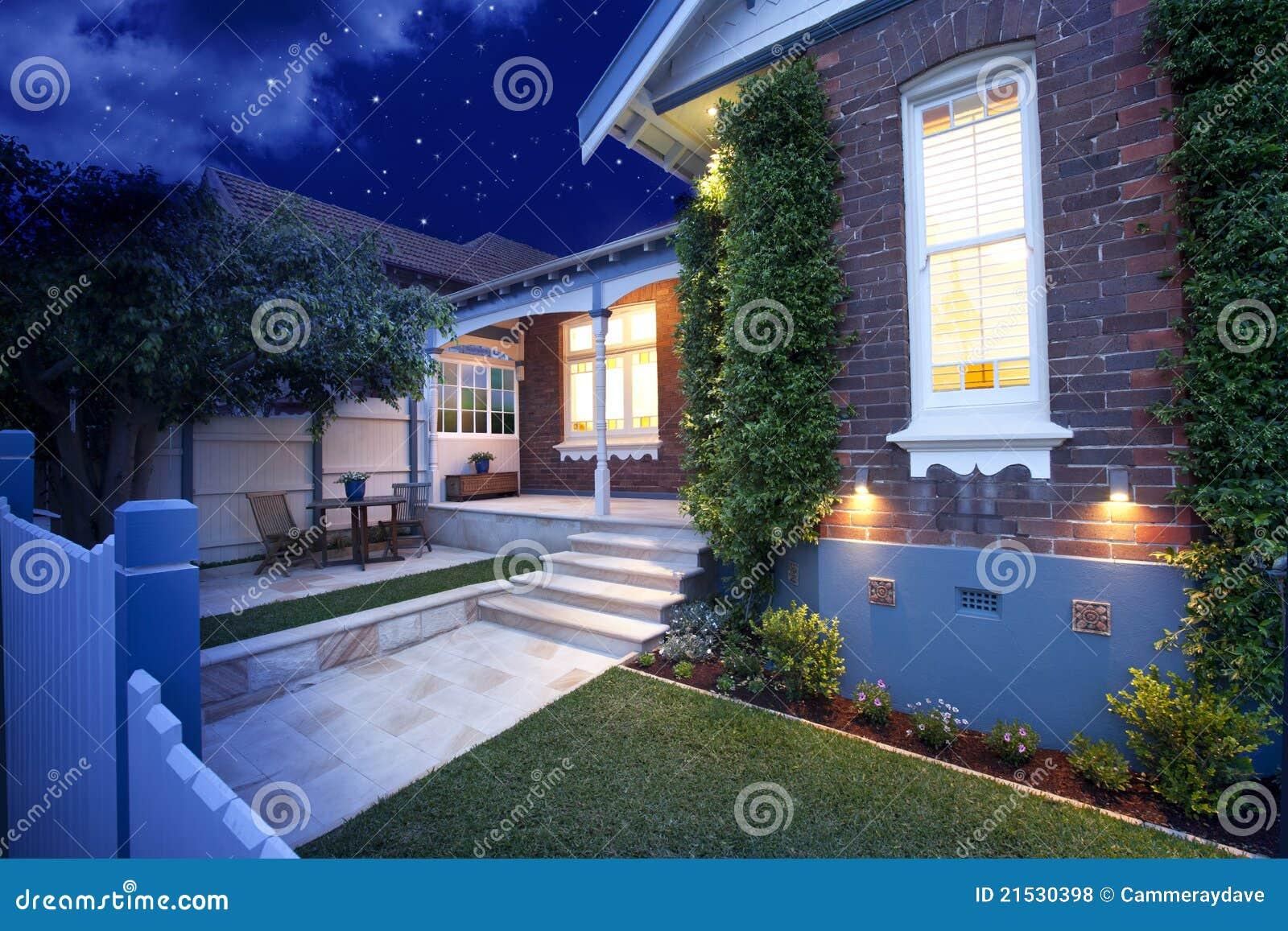 House Home Night Lights Lighting