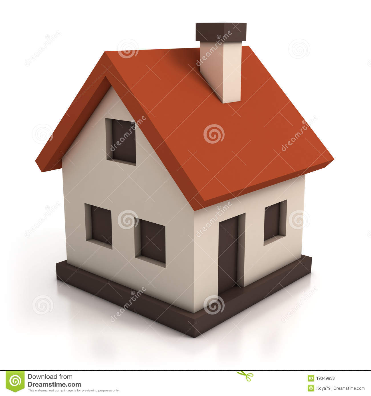 House Icon Royalty Free Stock Photos - Image: 19349838