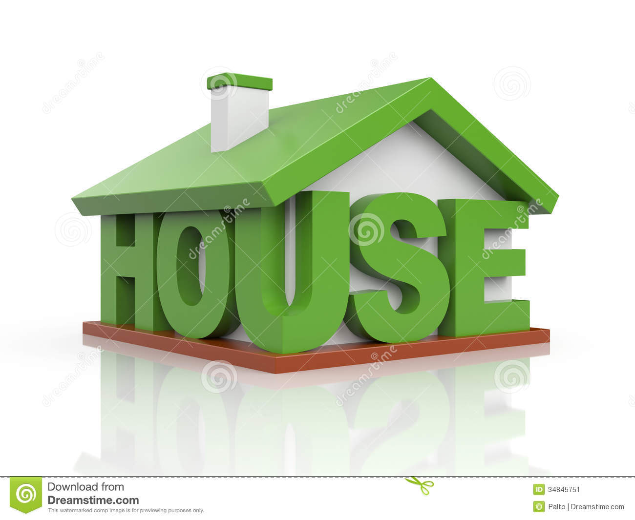 House Icon Stock Image Image 34845751