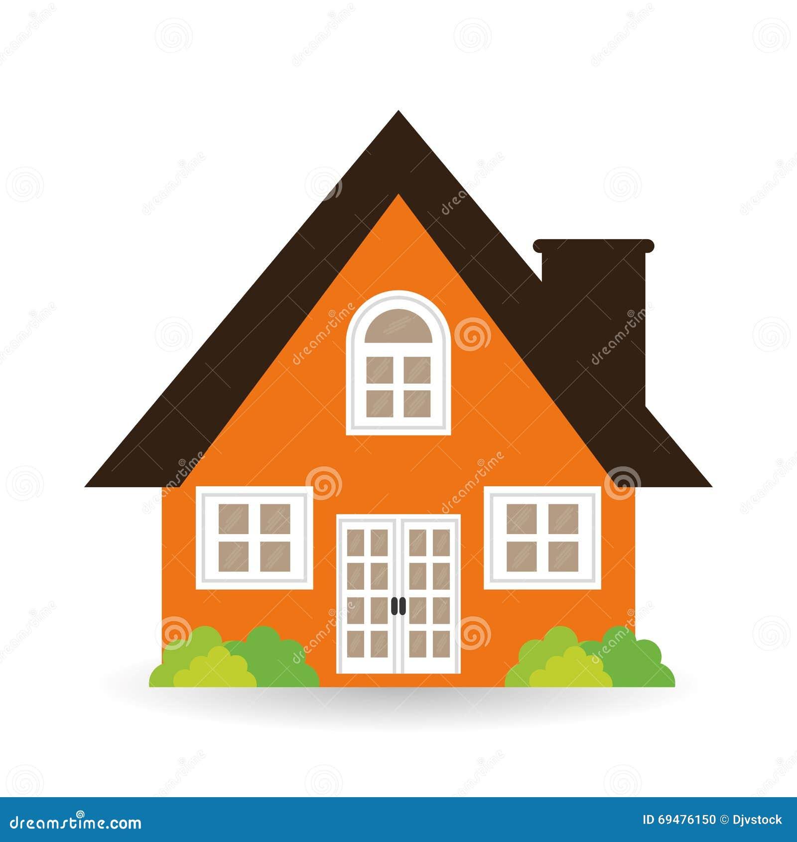 House Icon Design Vector Illustration Stock Vector