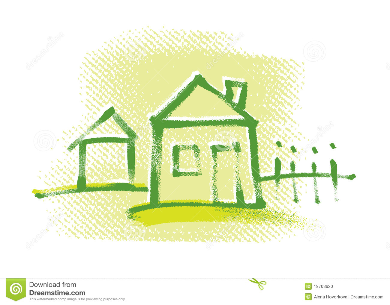 Simple Drawing Of House Stock Images - Image: 35371354 - ^