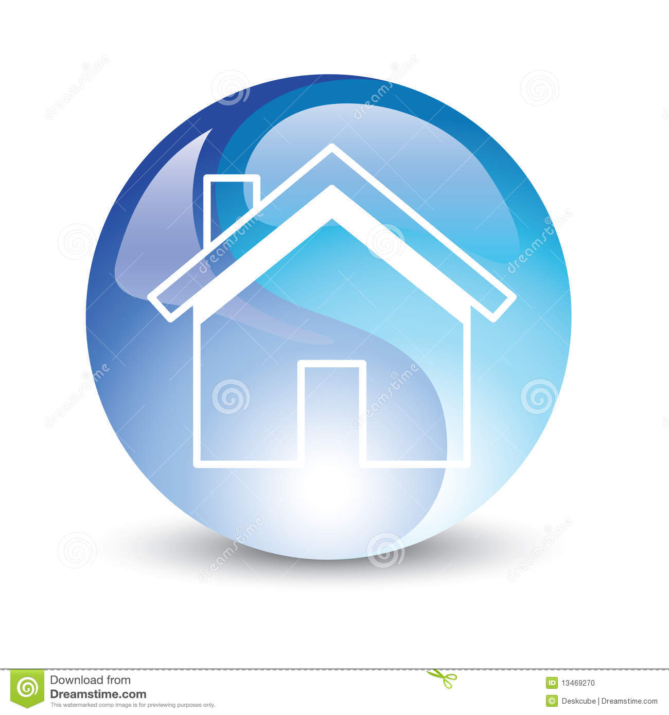 house icon internet stock vector illustration of small