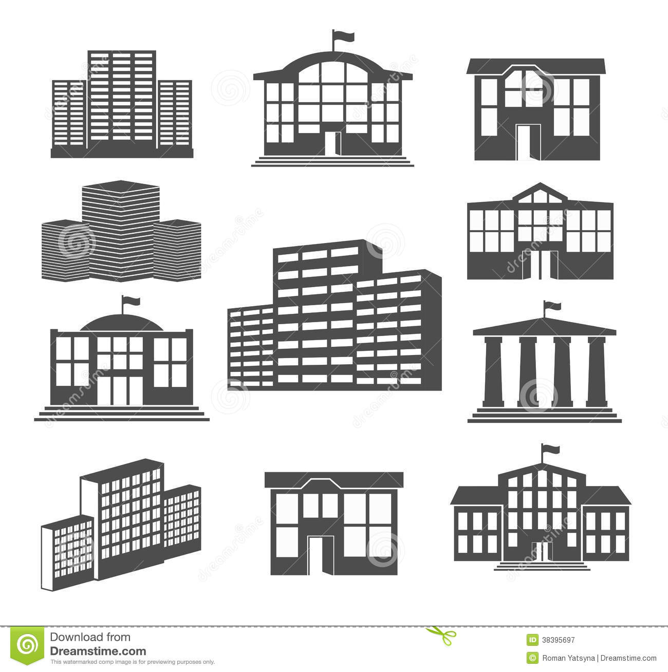 2d building icons images galleries for 2d building drawing