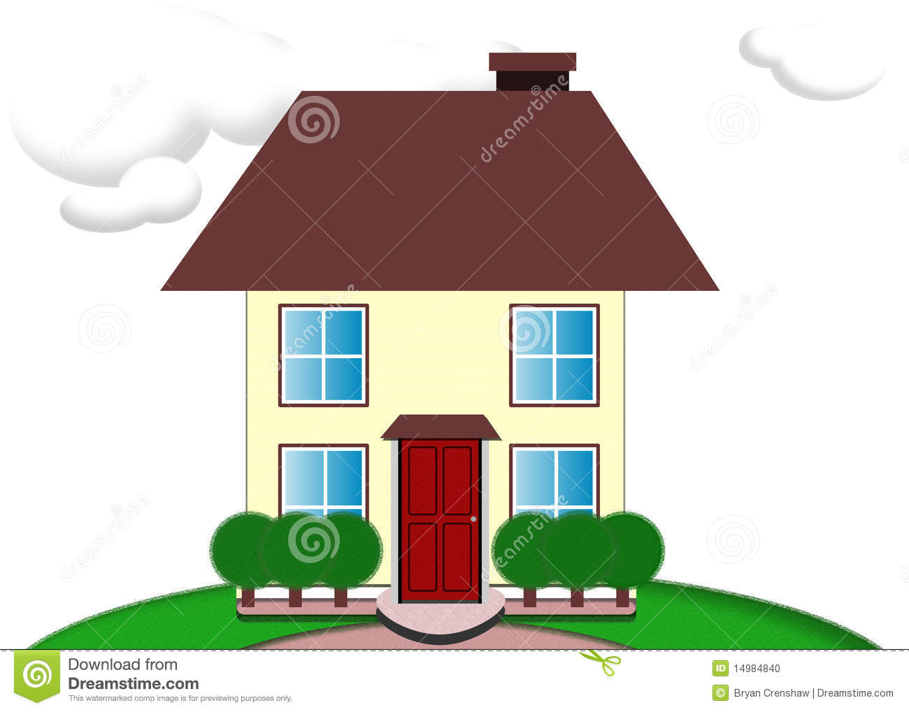 house illustration 14984840