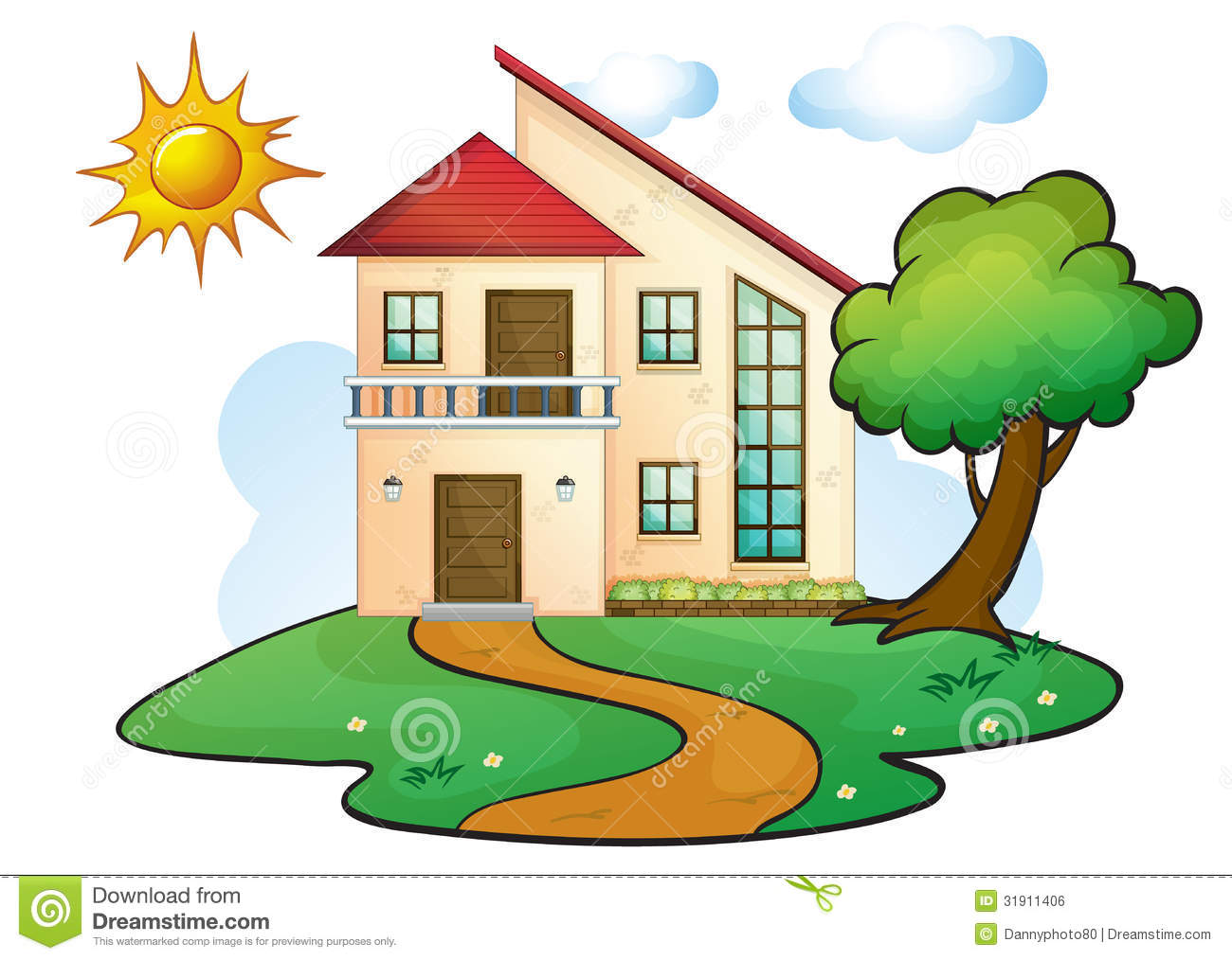 Casita House Plans A House Royalty Free Stock Image Image 31911406