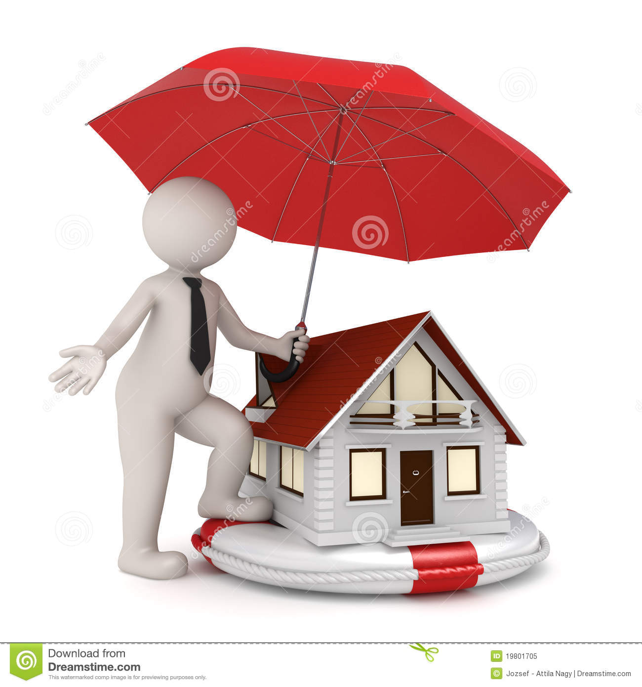 House insurance 3d business man royalty free stock photo for Ome images