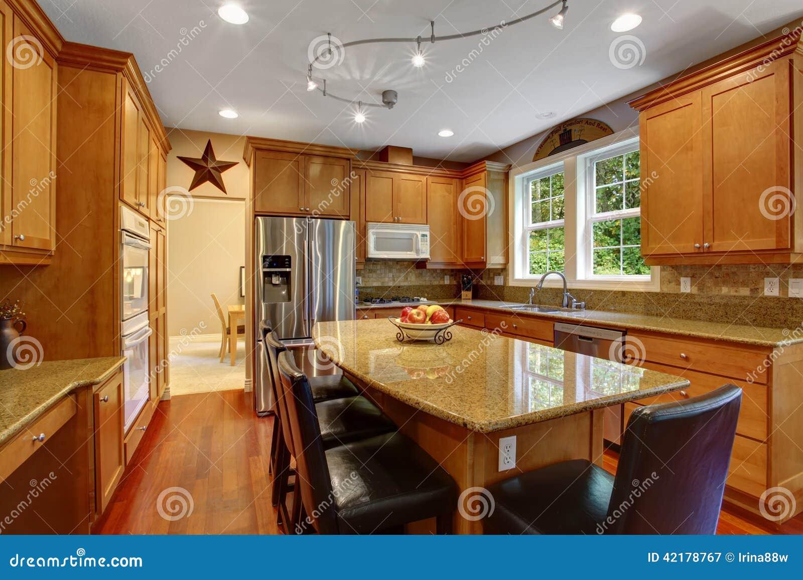 House Interior Elegant Kitchen Room Interior Stock Photo Image