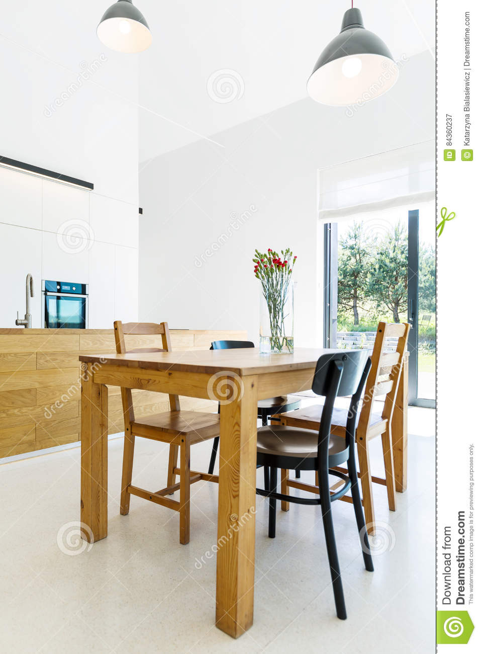 Perfect Download House Interior With Simpe Wooden Furnitures Stock Image   Image Of  Layout, Space: