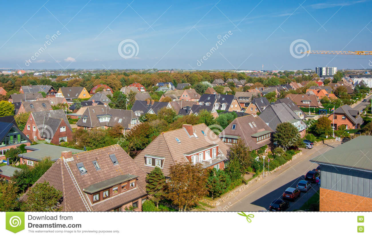 House On The Island Of Sylt Germany Stock Photo Image Of