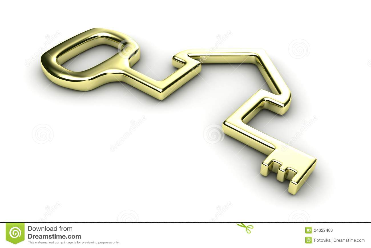 House Key Stock Photo - Image: 24322400