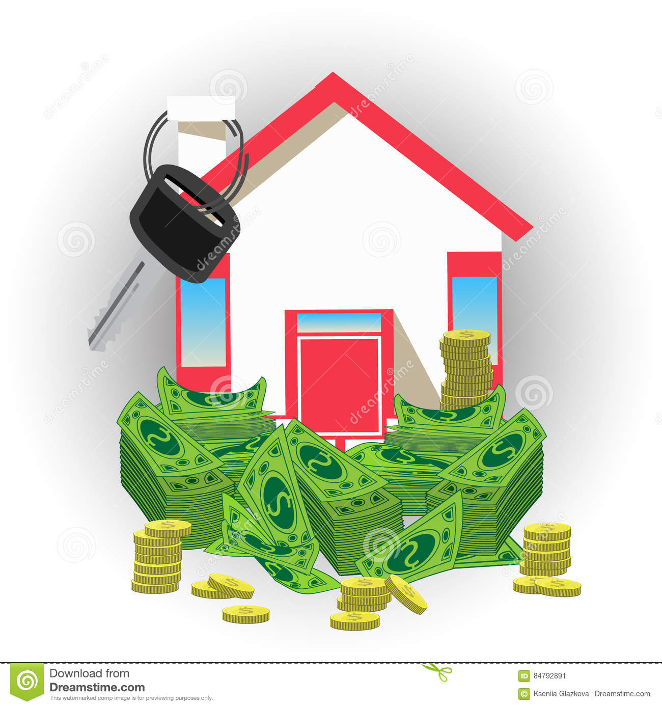 House Key With Money. An Icon A Red Roof Stock Illustration ... on caribbean house designs, button designs, lantern designs, bunkie designs, keys with designs, poetry designs, house extension designs, house keys fun, diary designs, money designs, stilt home designs, phone designs, florida beach house designs, house entry designs, house warehouse, cool computer designs, house number designs, housekeeping designs, house of k fashion logo, black and white abstract designs,