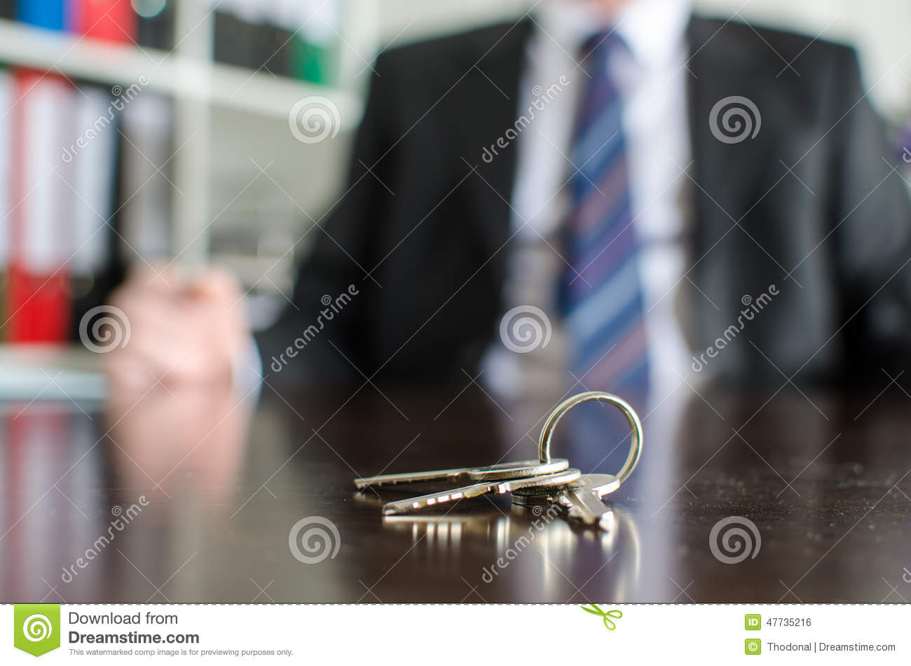 House Keys On A Table Stock Photo - Image: 47735216