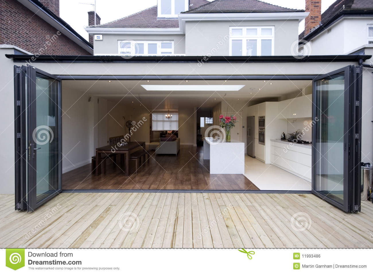 House Kitchen House Kitchen Extension Royalty Free Stock Image Image 11993486