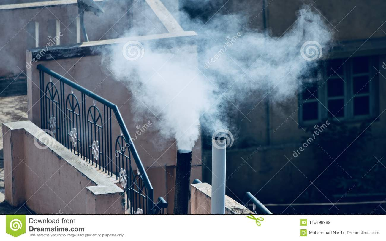 Download House Kitchen Smoke Polluting Air  Unique Photograph Stock Image - Image of polluting, abstract: 116498989