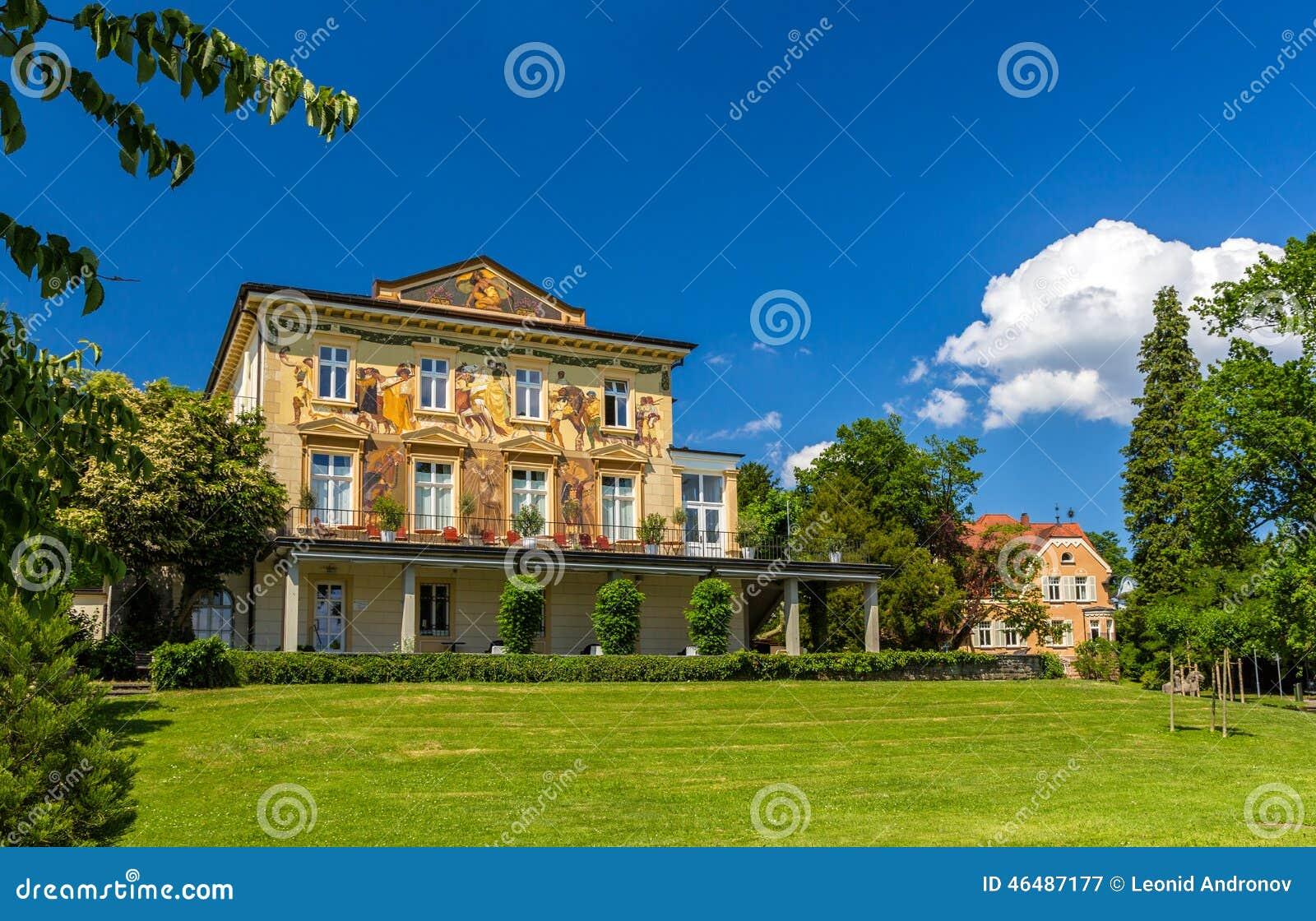 House In Konstanz, Germany, Baden-Wurttemberg Stock Photo