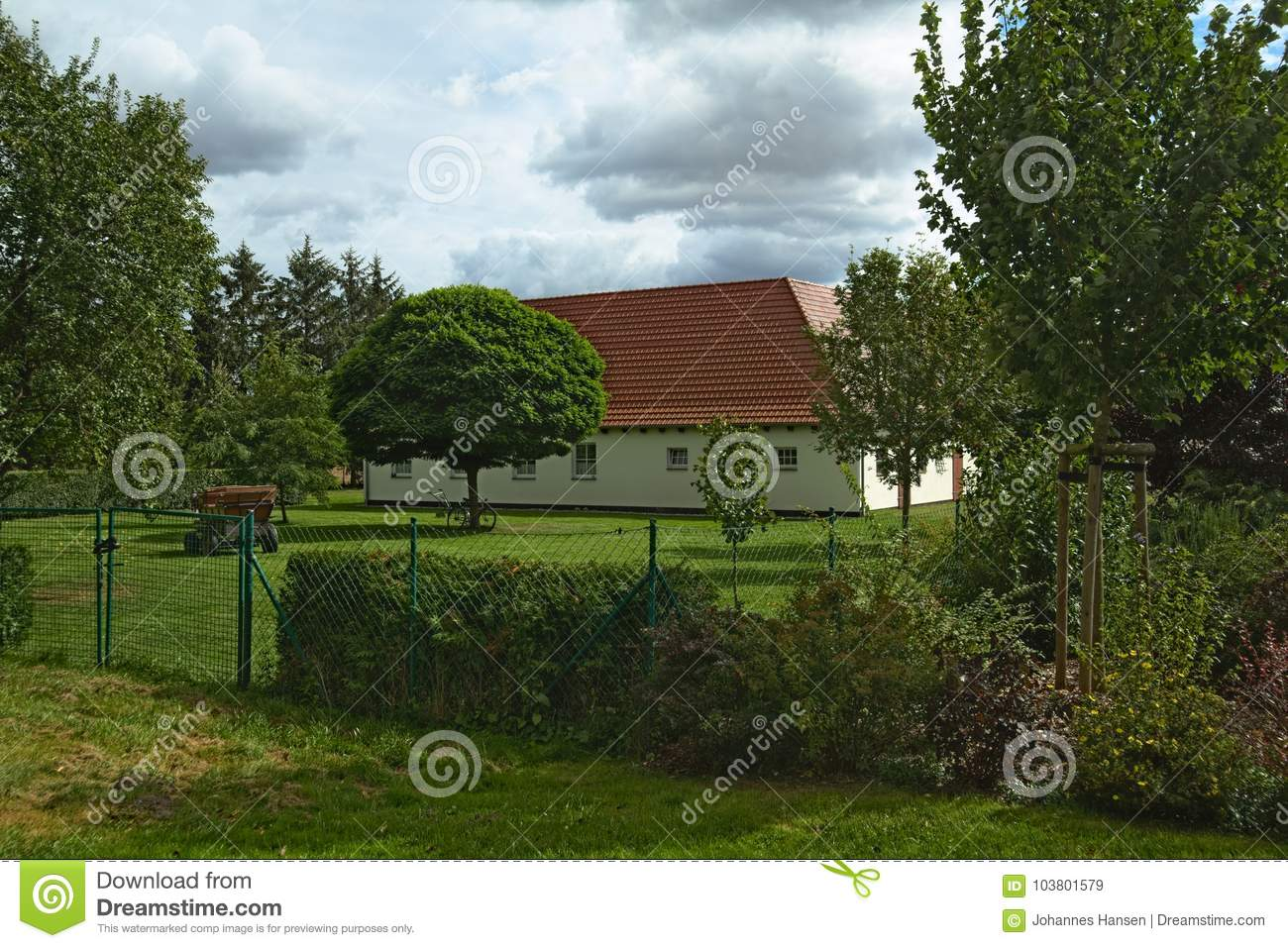 House listed as monuments in Kirchdorf, Mecklenburg-Vorpommern, Germany