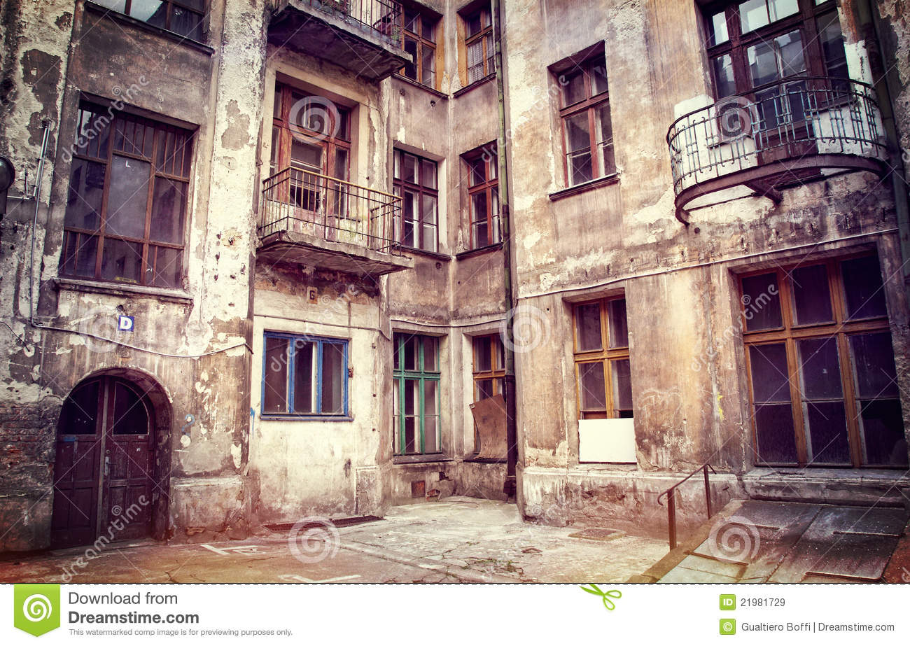 House In Lodz Poland Royalty Free Stock Images Image 21981729