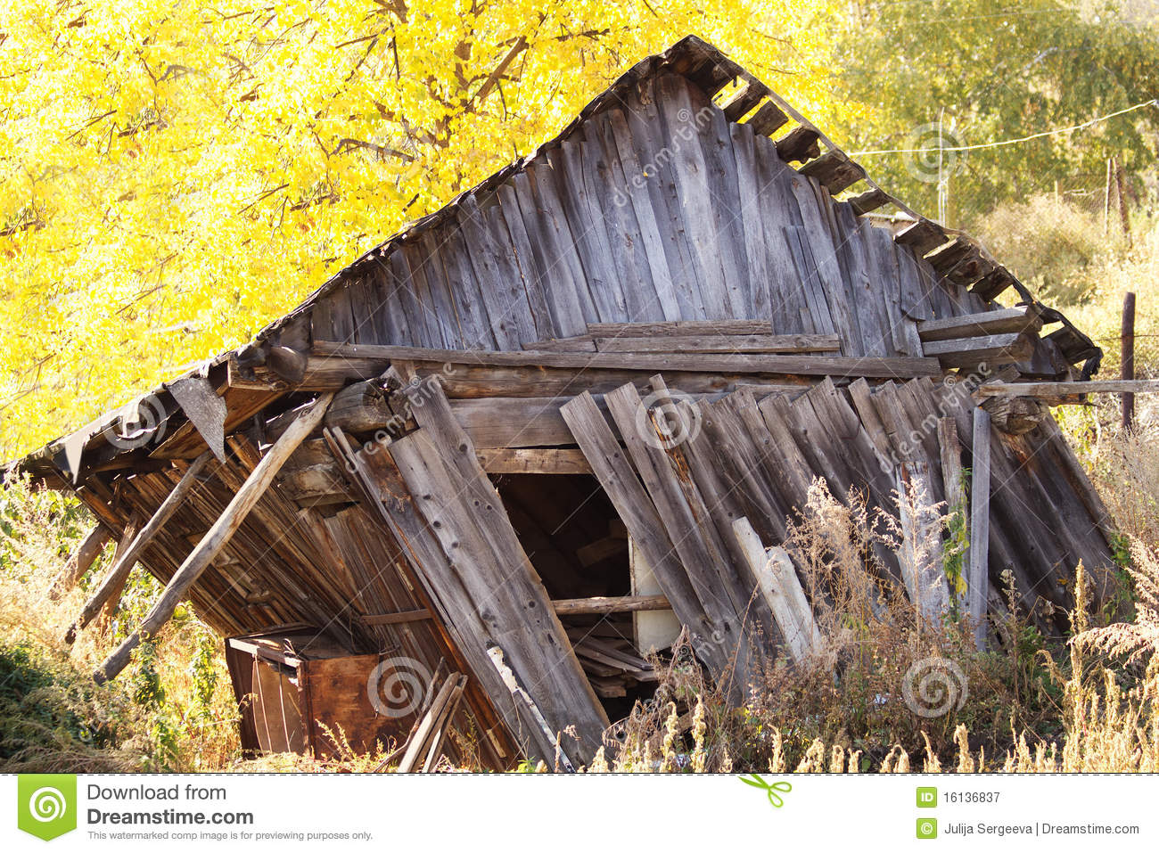 house log board destruction stock image image of rural shed 16136837
