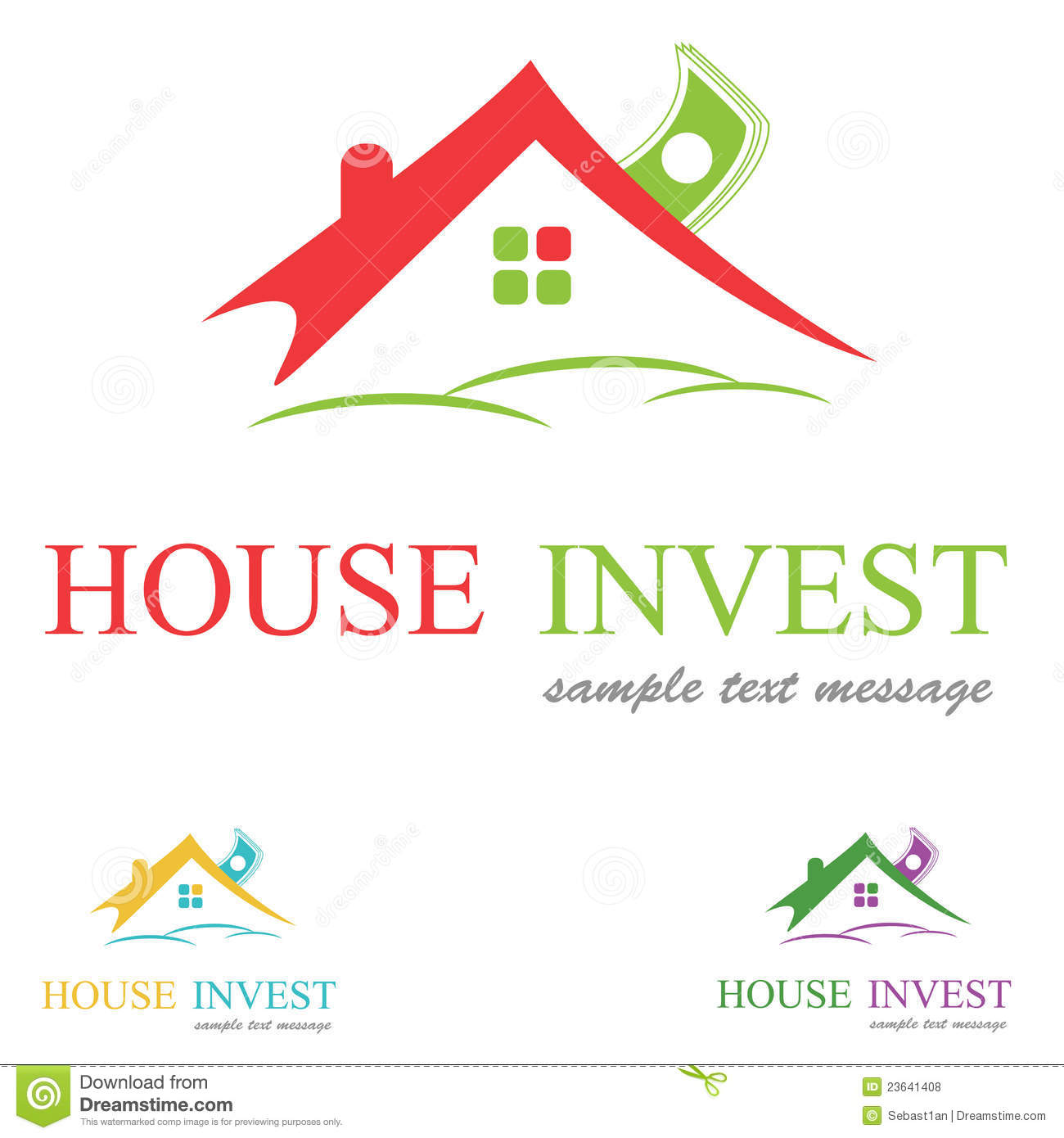 House Logo Royalty Free Stock Photos - Image: 23641408