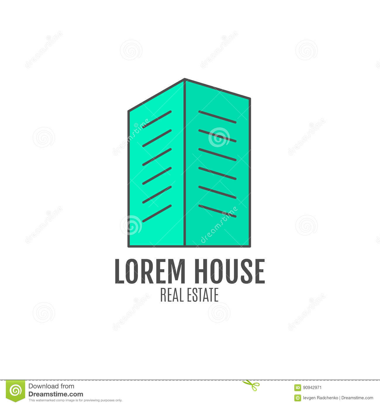 House logo design, real estate icon suitable for info graphics, websites and print media. , flat , badge, label, clip