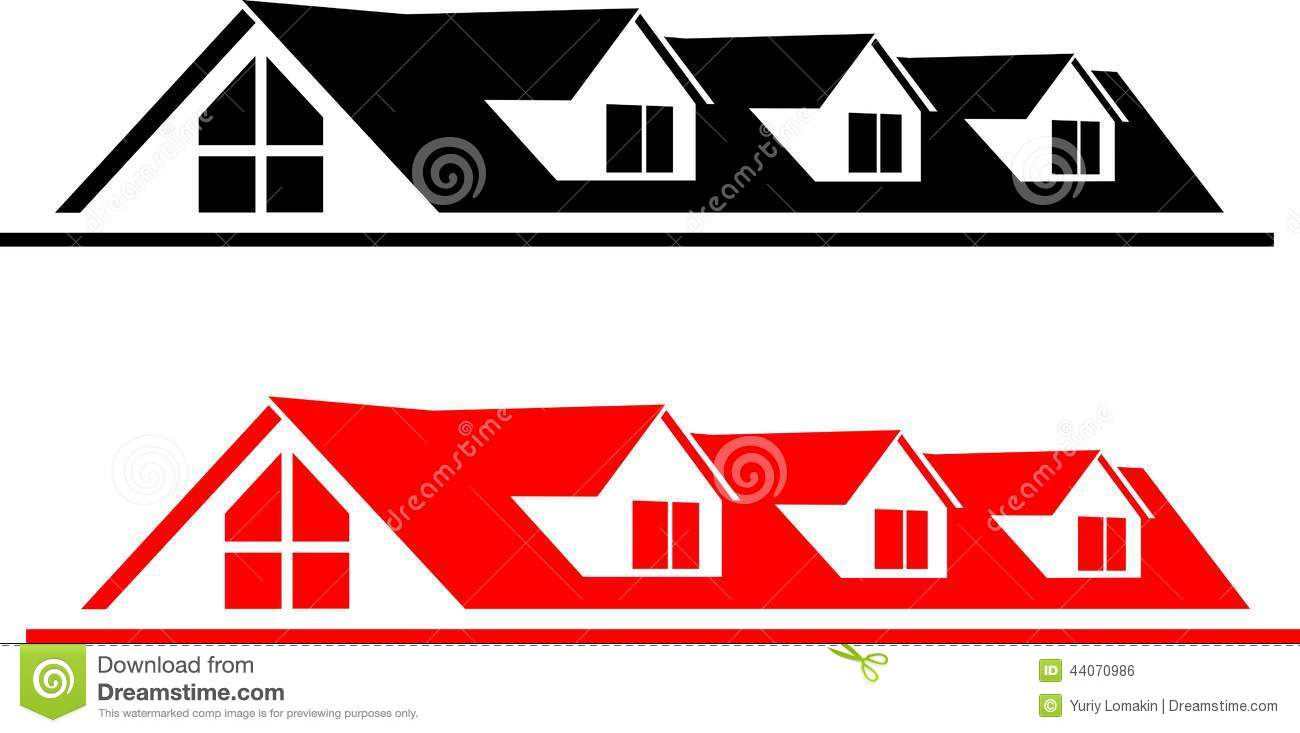 House logo stock vector image 44070986 for Firm company