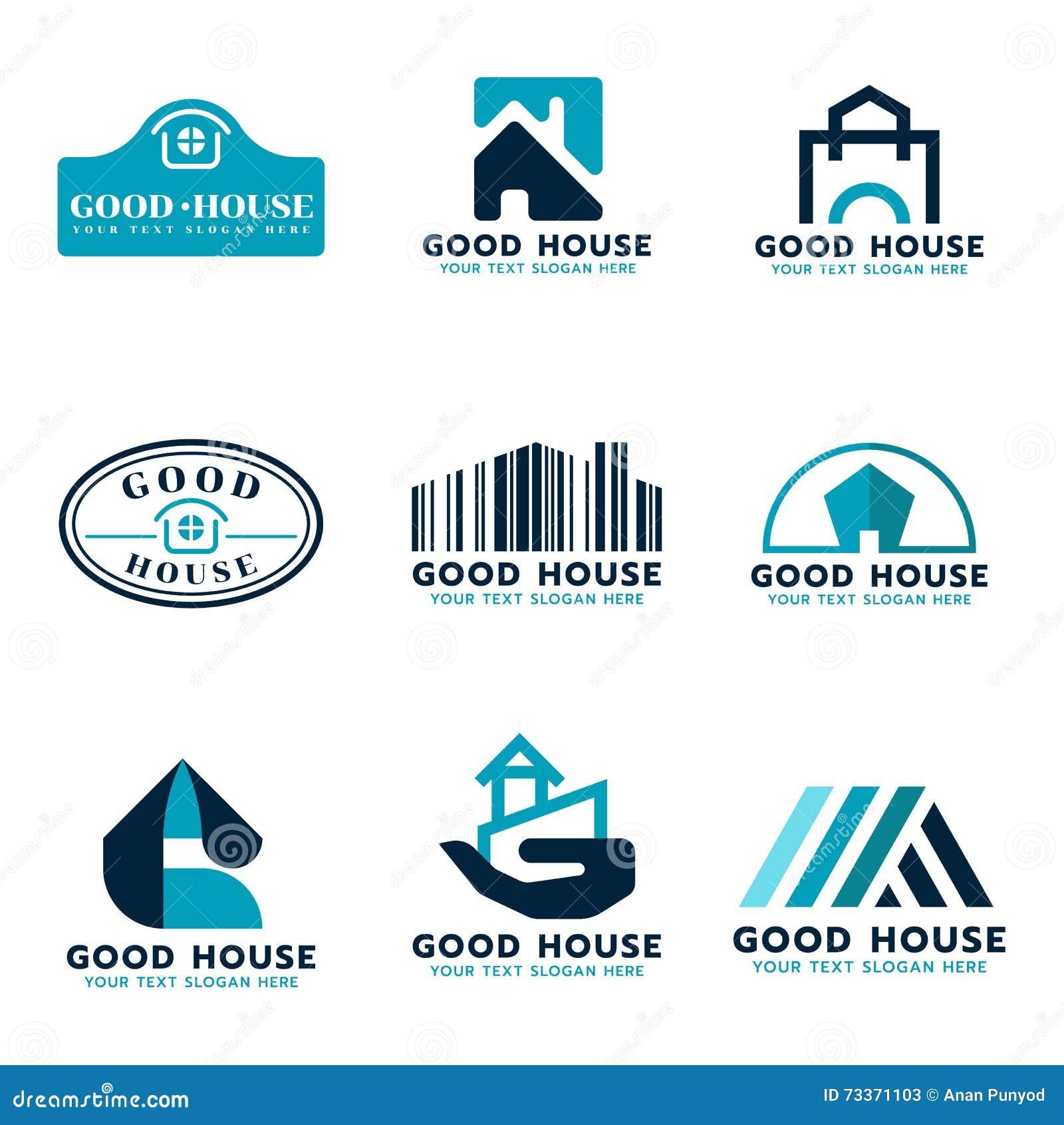 Blue Marks Logo Design