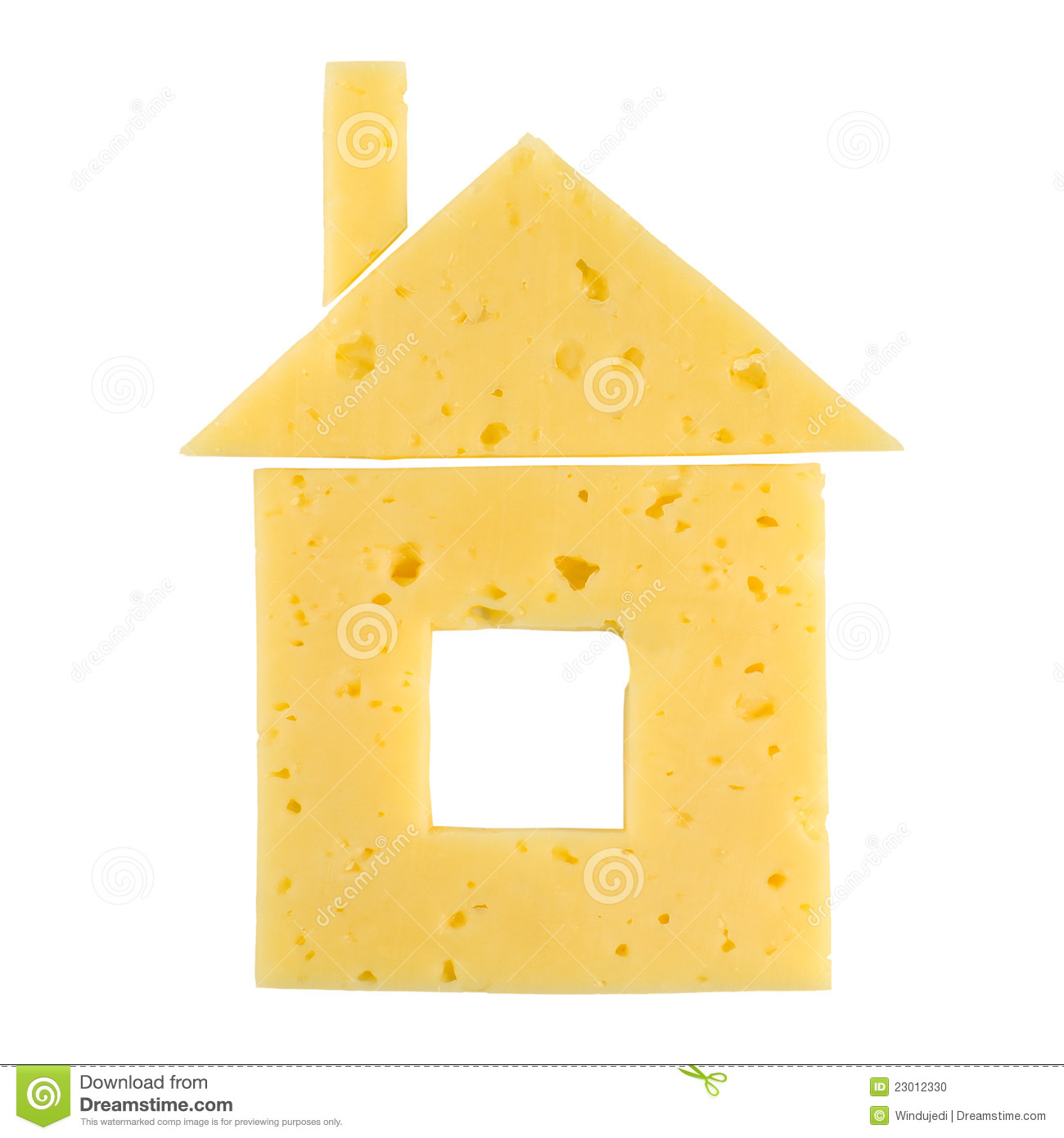 House made of cheese stock photo image of home nobody for Who invented houses
