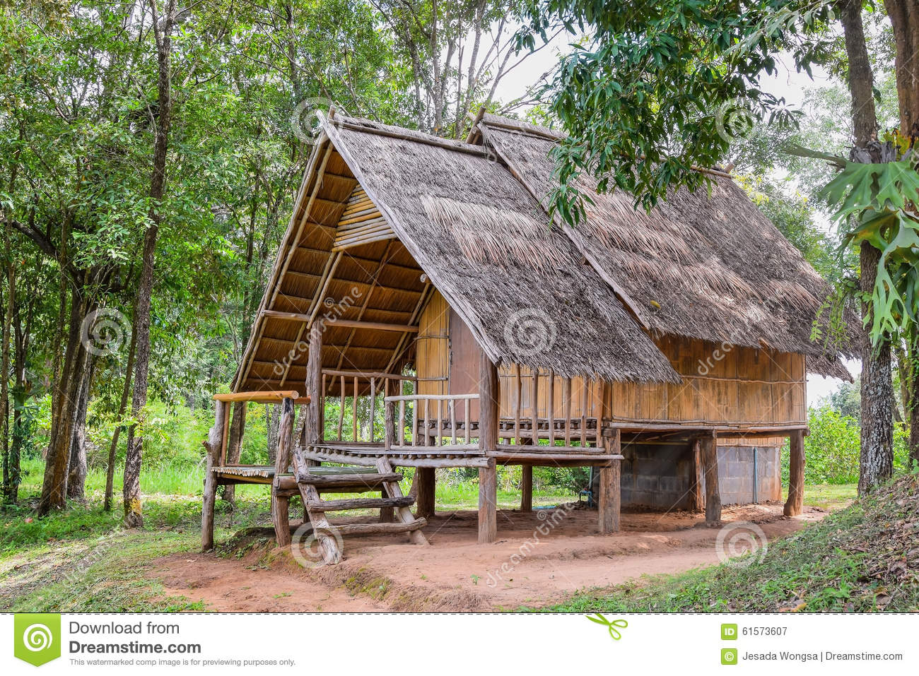 House made of natural materials in the countryside stock image image 61573607 - Houses made from natural materials ...