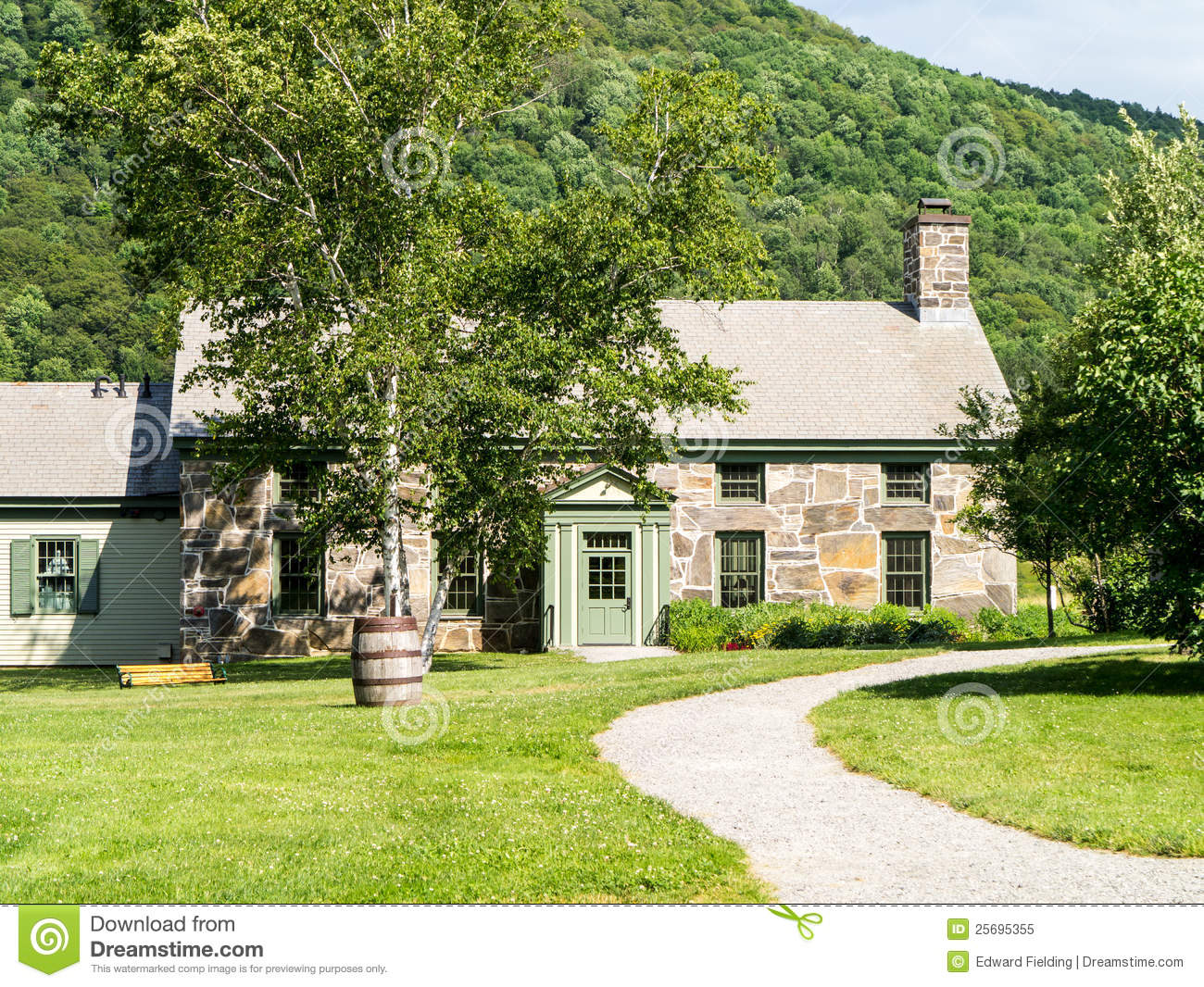 House Made Out Of Stone Royalty Free Stock Photo Image