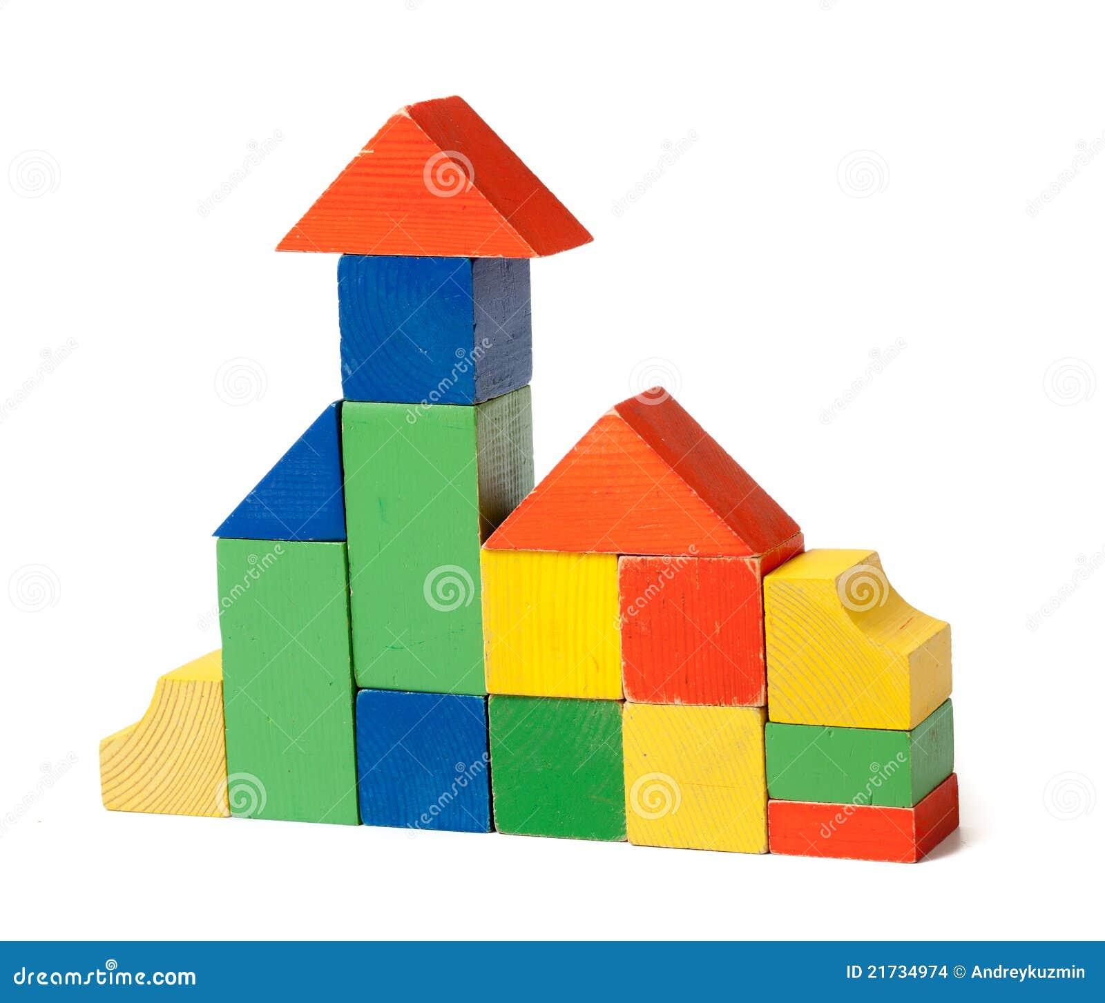 Used Wood Building Blocks