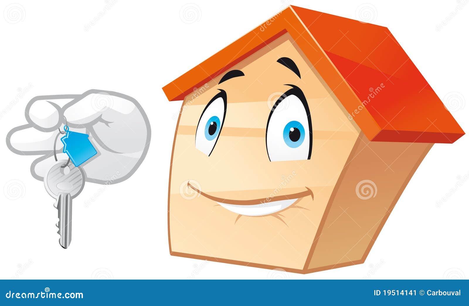 House Mascot Stock Image Image 19514141