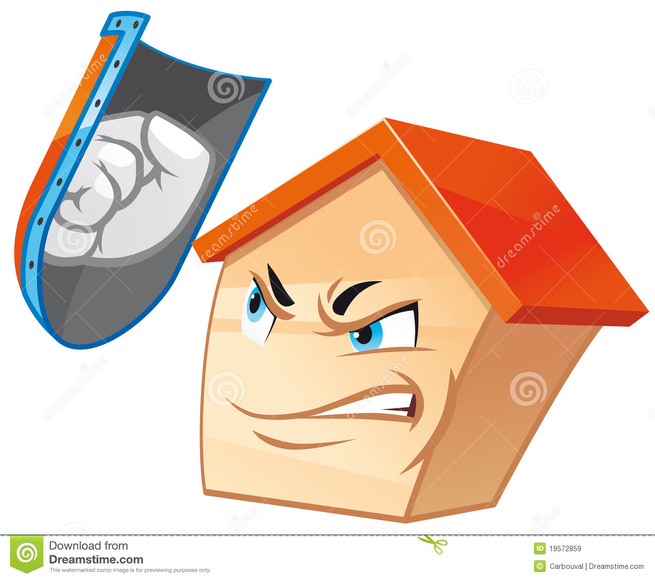 House mascot royalty free stock images image 19572859 for Mascot homes floor plans
