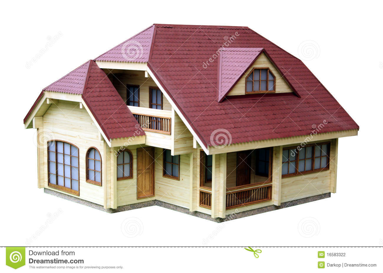 House model stock photography image 16583322 for The model house