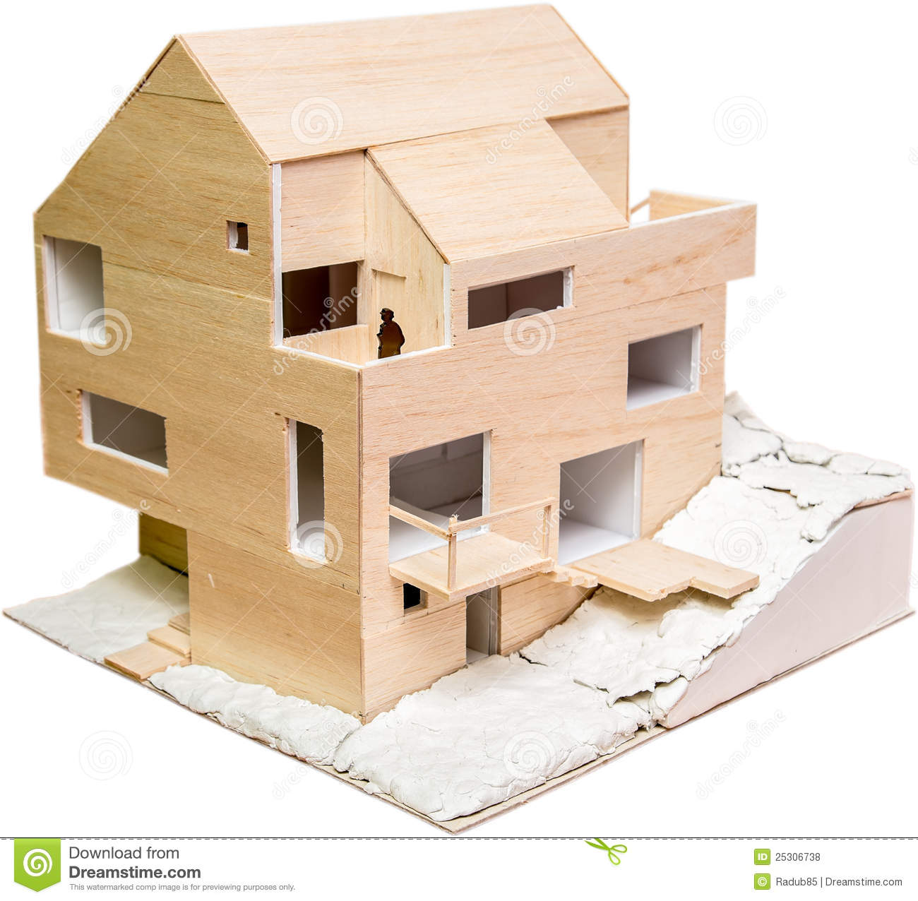 House Model Royalty Free Stock Photos Image 25306738