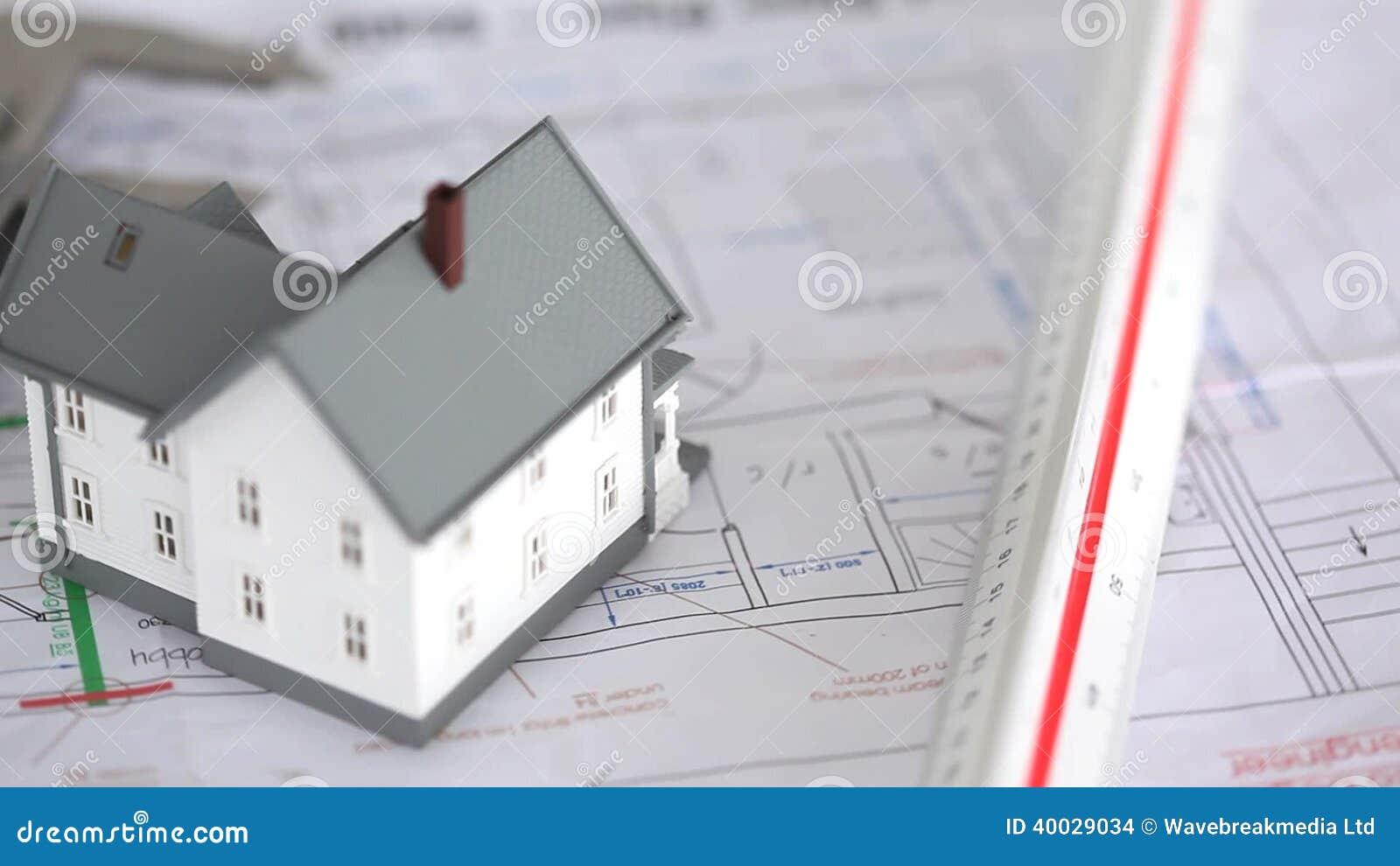 House model raised on plans stock footage video of draw drawing house model raised on plans stock footage video of draw drawing 40029034 ccuart Gallery
