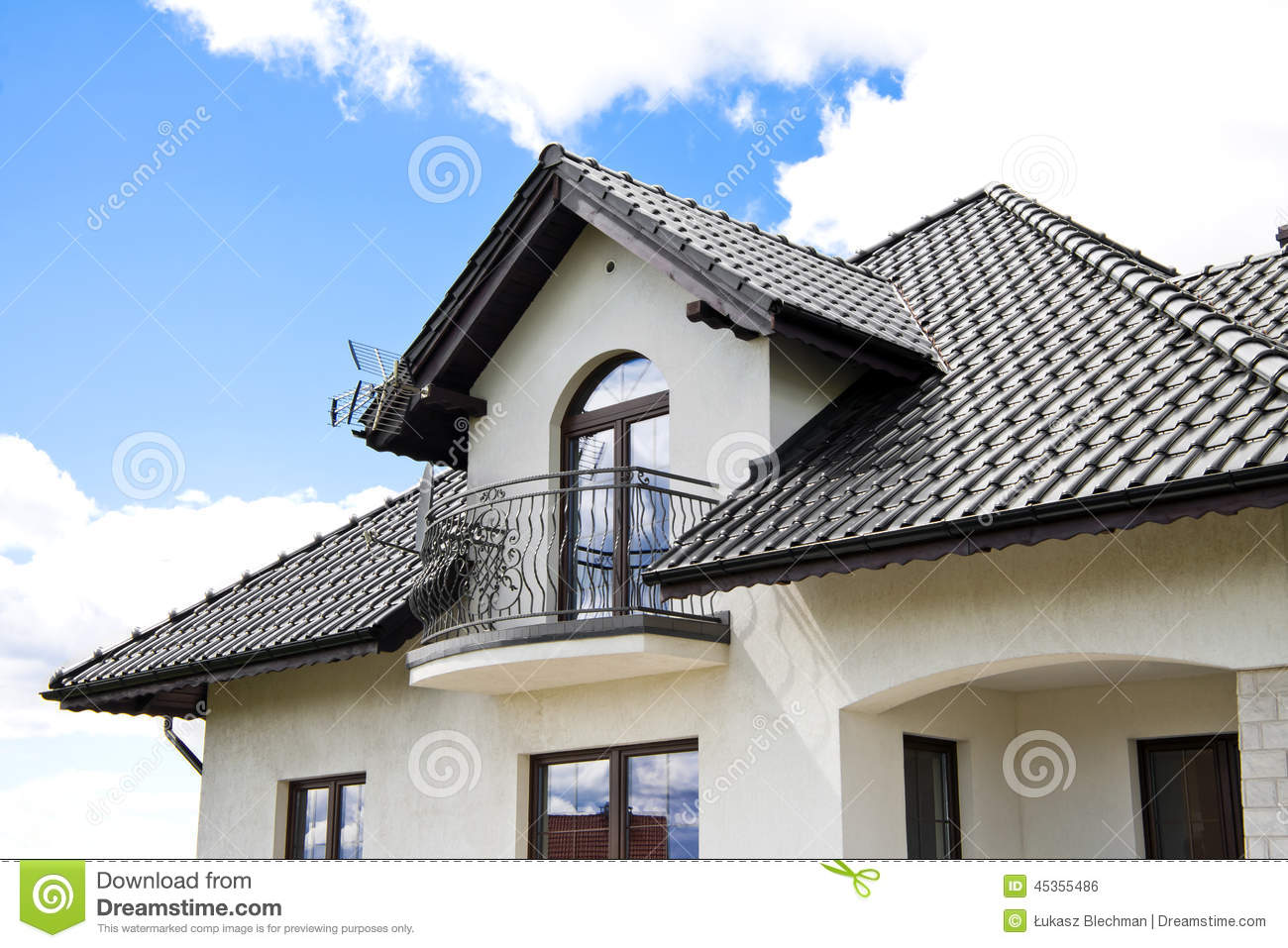 House with a Modern Roof