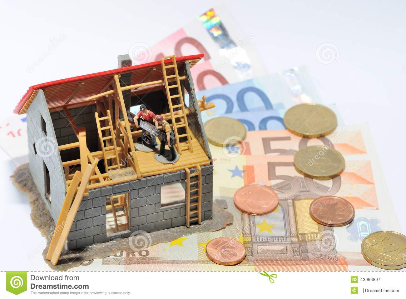 House And Money Stock Photo Image 43996897