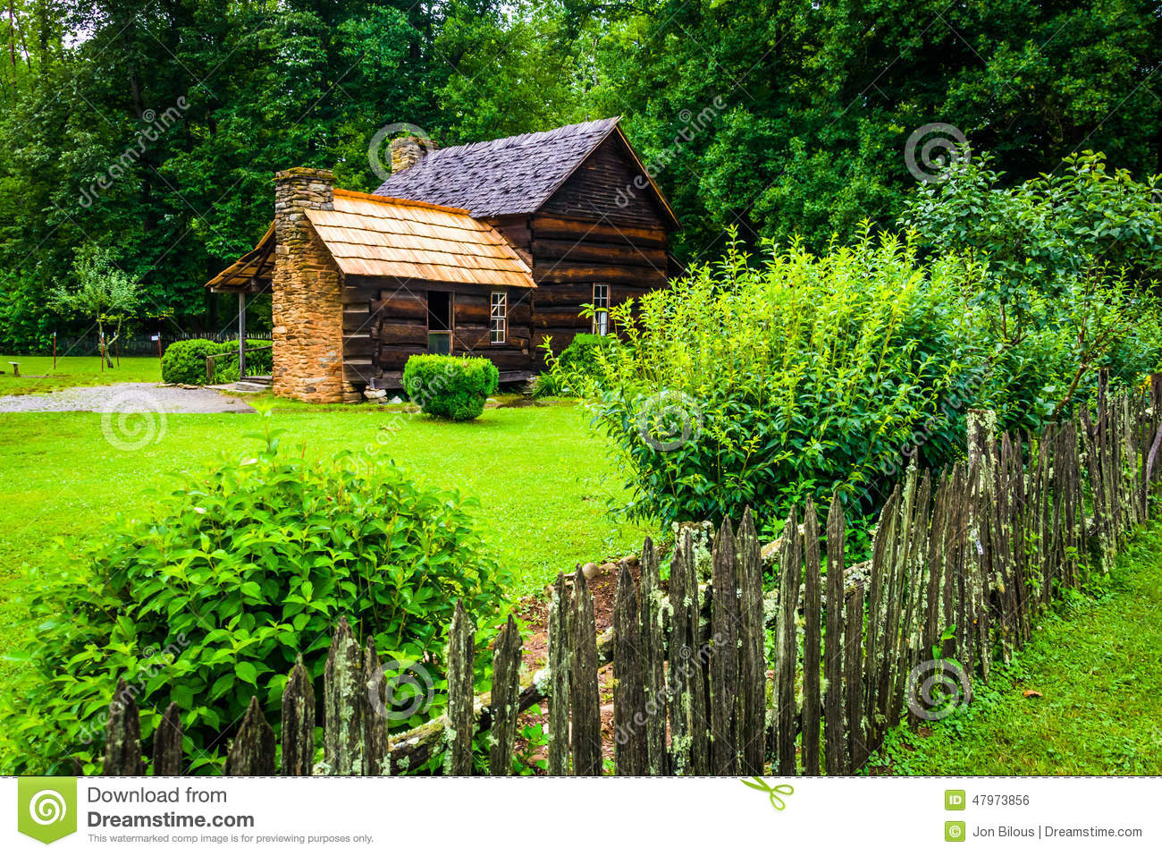 House at the mountain farm museum in the oconaluftee for North carolina mountain house plans