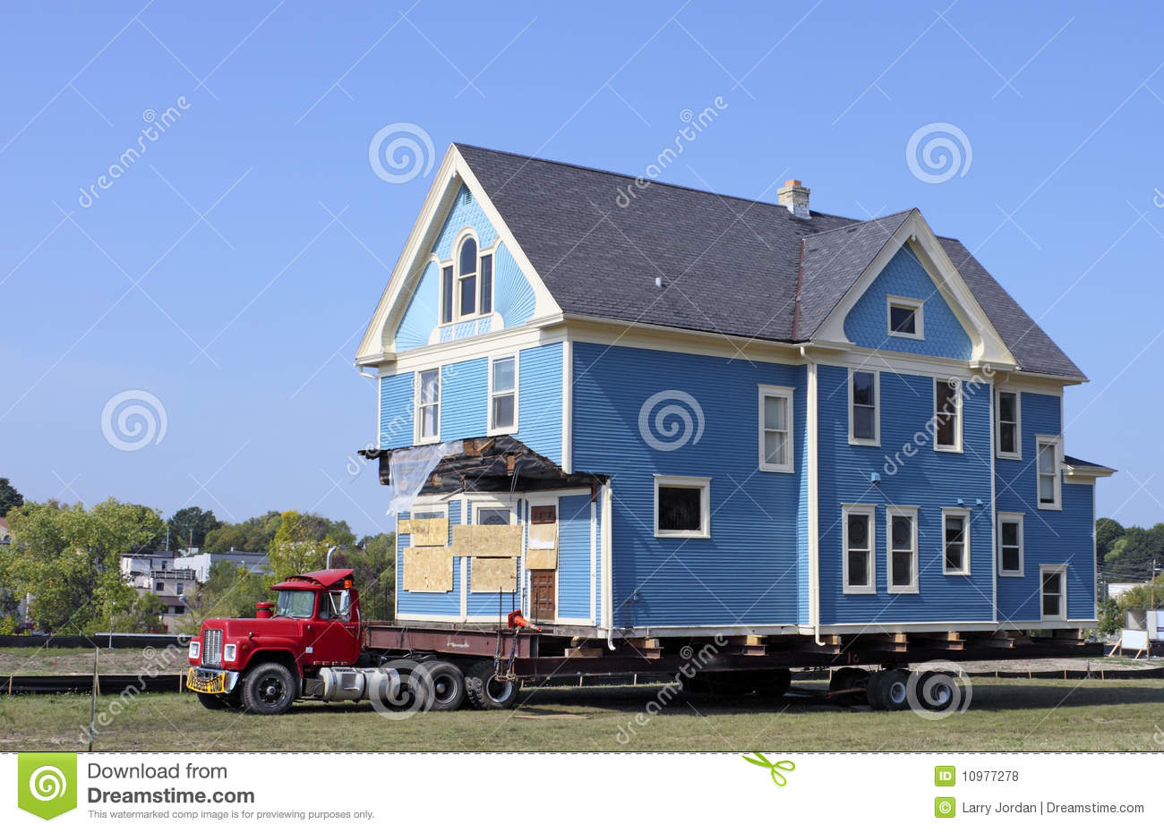 House Moving Royalty Free Stock Photos Image 10977278