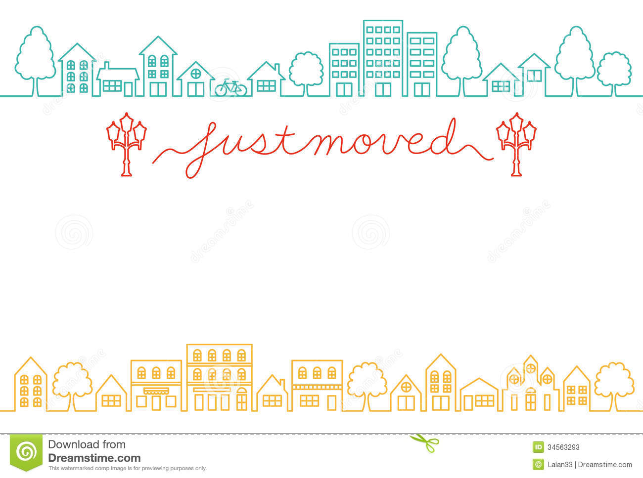 Sweet Home Design 3d Online House Moving Greeting Card Stock Photos Image 34563293