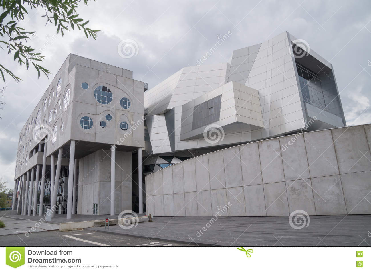 House of music aalborg denmark stock image image of for House music structure